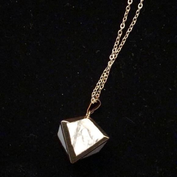Merx Jewelry - Merx Cube Necklace